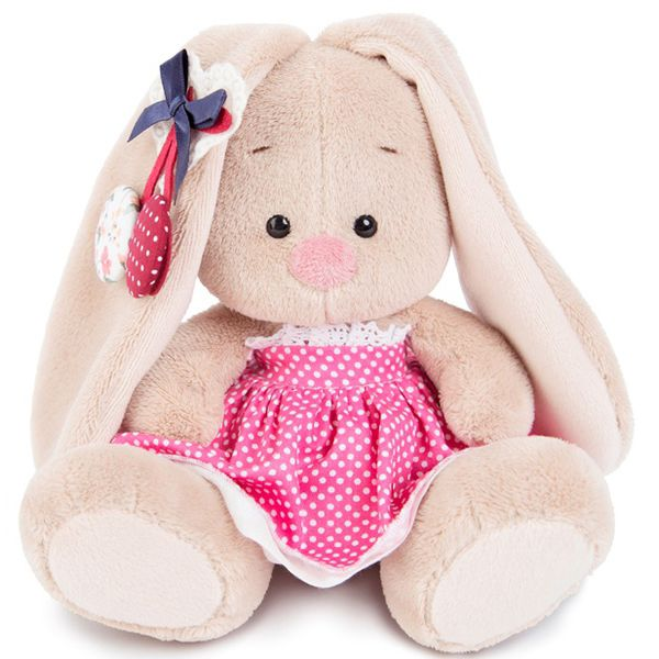 Зайка Ми в розовой юбочке и с вишней малыш