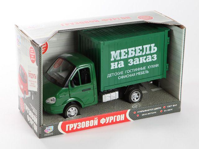 Машина 1:27 Газель Грузовой фургон Мебель