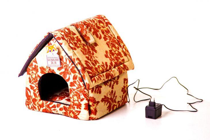 Лежанка для животных с подогревом, модель Будка