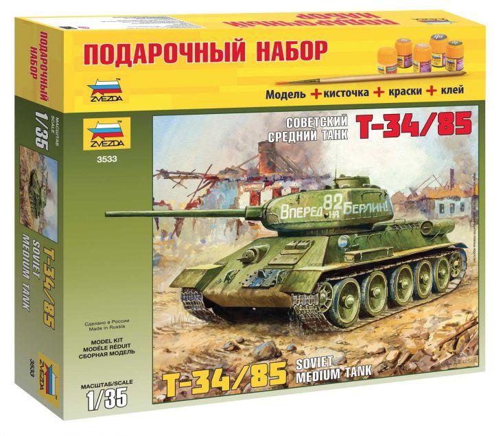 Танк Т-34/85, 3533ПН, 1/35